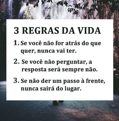3 regras da vida